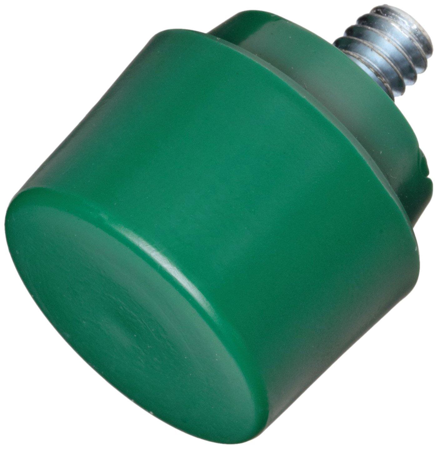 15104 NUPLA Hammer Tip,1 In Dia,Tough,Green Green