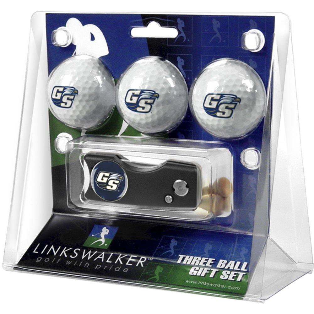 Georgia Southern Eagles 3ゴルフボールギフトパックwith Spring Actionツール B001L7U79U