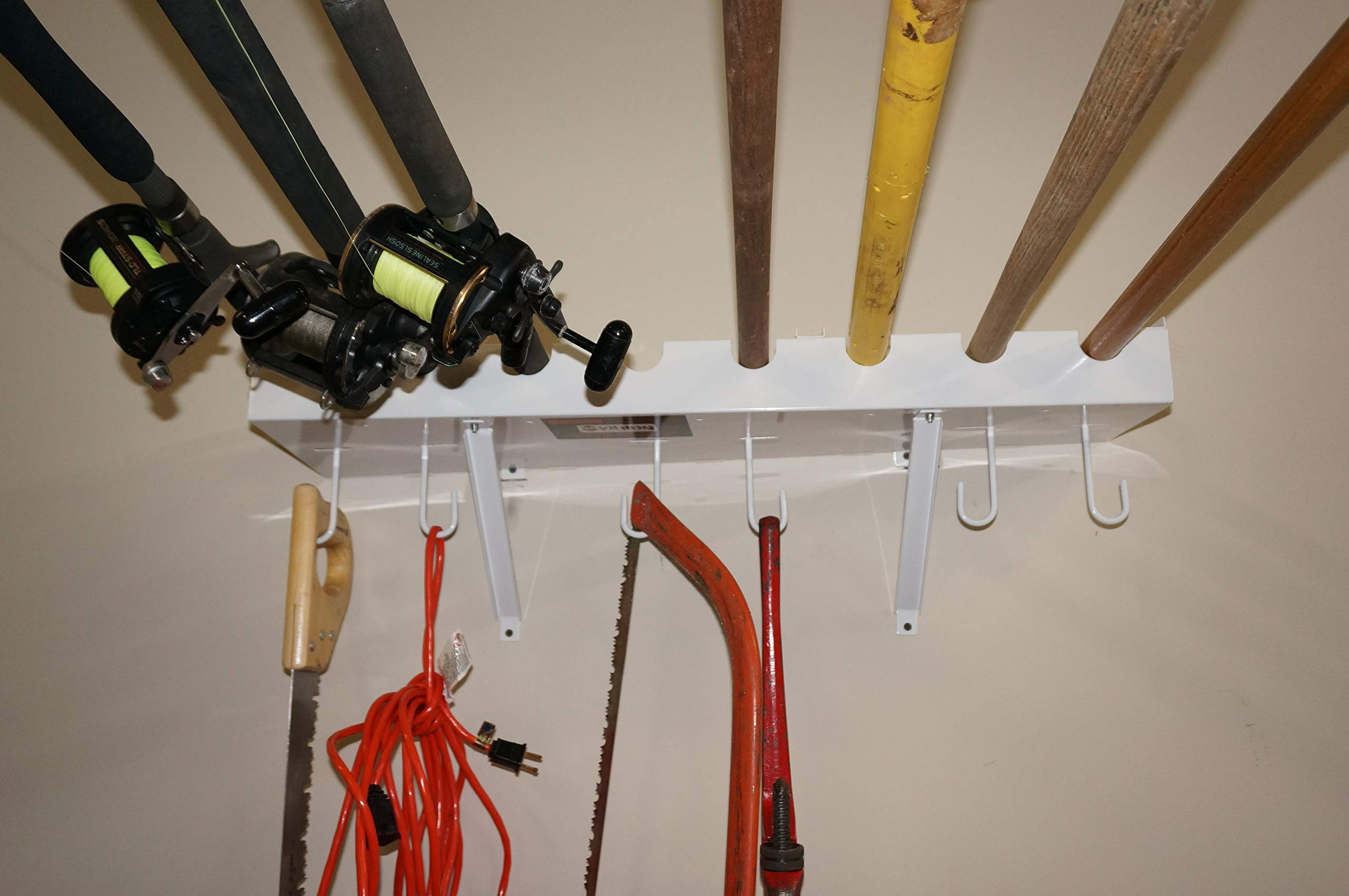 Viking Overhead Wall Mount Tool-Fishing Rod Holder by Viking Solutions (Image #3)