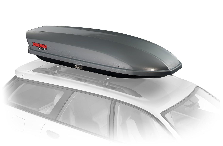 Yakima SkyBox Pro 16s Rooftop Cargo Box (16 Cubic Feet, Titanium) 8007180