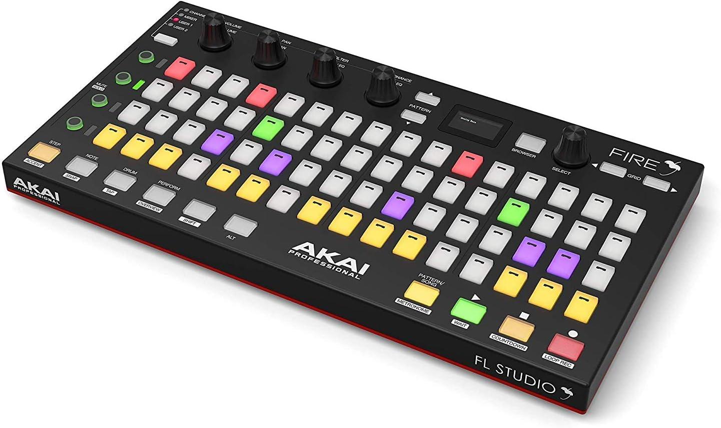 Akai Professional Fire FL Studio controlador de rendimiento ...