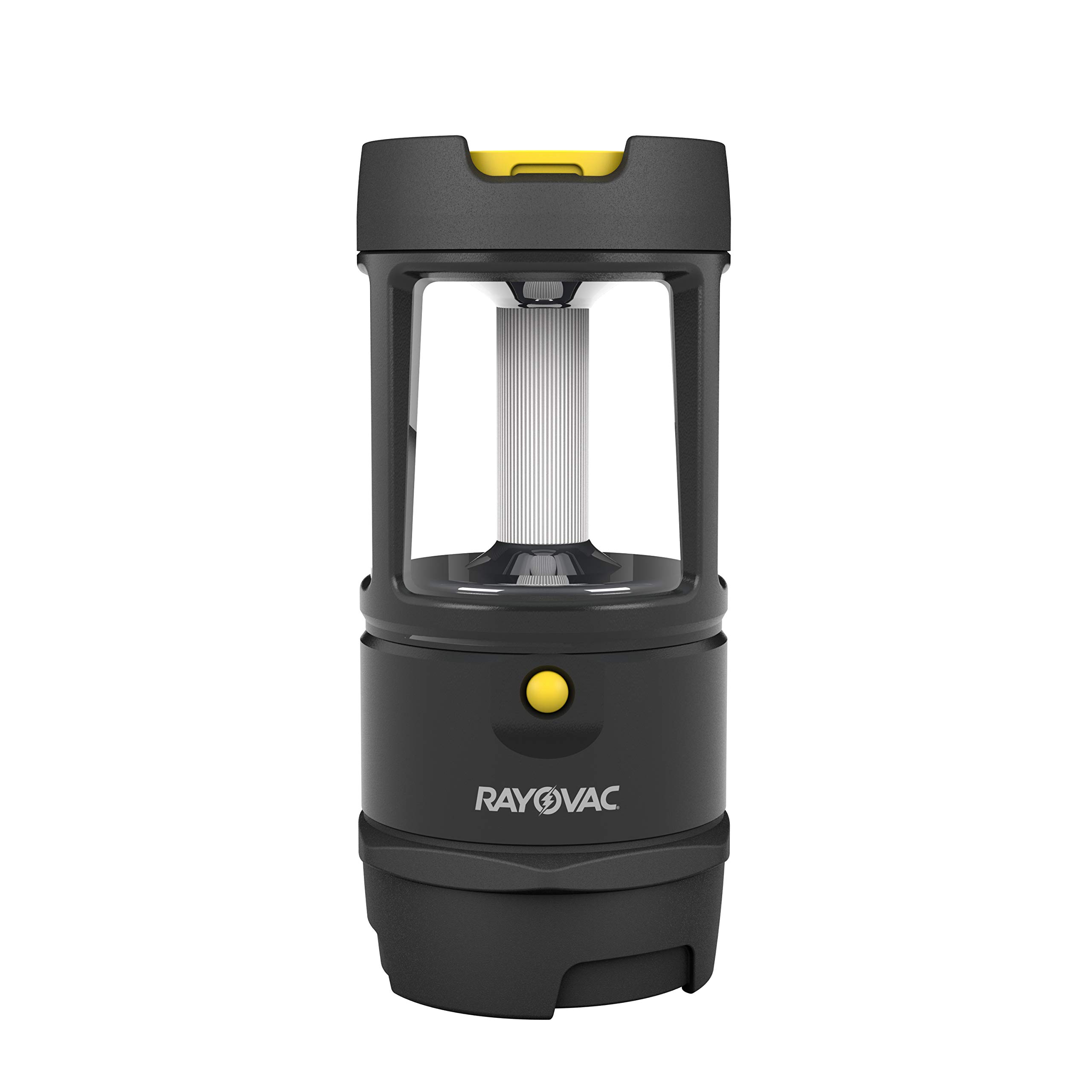 Rayovac Virtually Indestructible LED Camping Lantern Flashlight, 600 Lumens Battery Powered LED Lanterns for Hurricane Supplies, Survival Kit, Camping Accessories, IP67 Waterproof by Rayovac