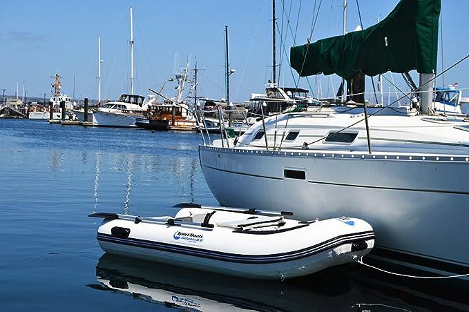 Amazon.com: Barca hinchable del Deporte Barcos Manta Ray 8,8 ...