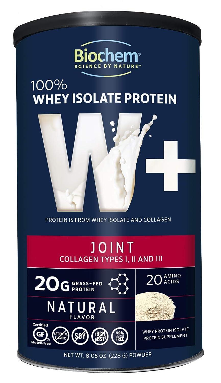 Biochem 100 Whey Isolate Protein Joint, 9.67oz, 0.05 Pound, Keto Friendly Protein Powder