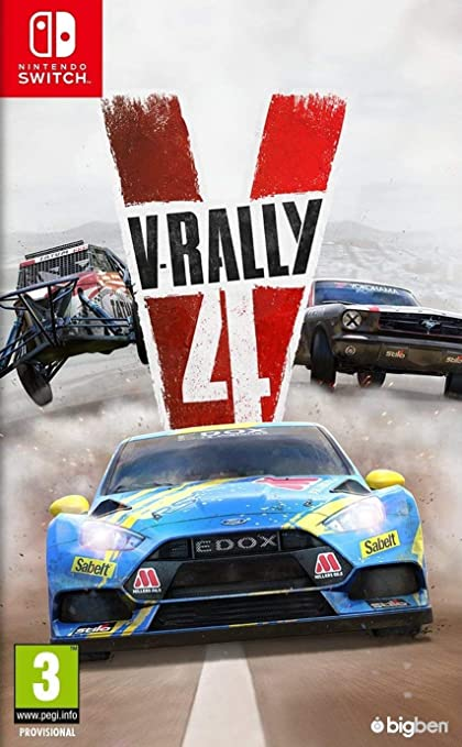 V-Rally 4 - Nintendo Switch: Amazon.es: Electrónica