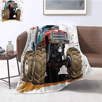 Astonishing Amazon Com Diliteck Printing Blanket Man Cave Monster Truck Theyellowbook Wood Chair Design Ideas Theyellowbookinfo
