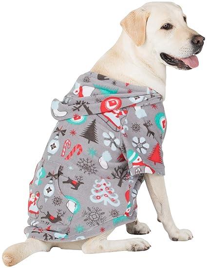 9b5c966f5366 Amazon.com  Footed Pajamas Pet Pjs - Santa s Village Pet Pjs Fleece ...