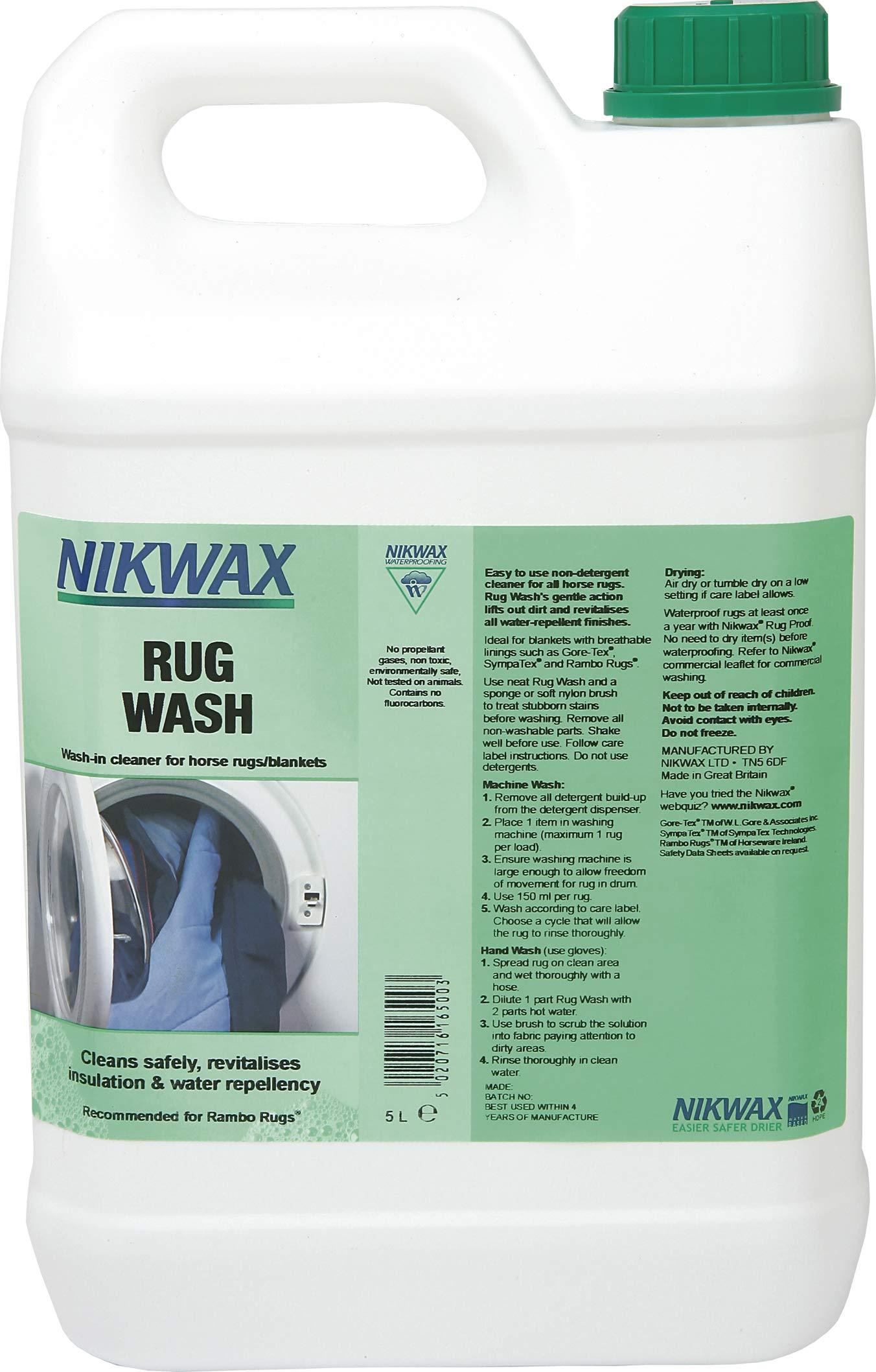 NIKWAX RUG WASH EQUIPMENT CLEANER (5LITRE) by Nikwax (Image #1)