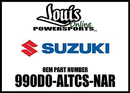 Amazon.com: Suzuki 990D0-ALTCS-NAR Aluminum Top Case: Automotive on