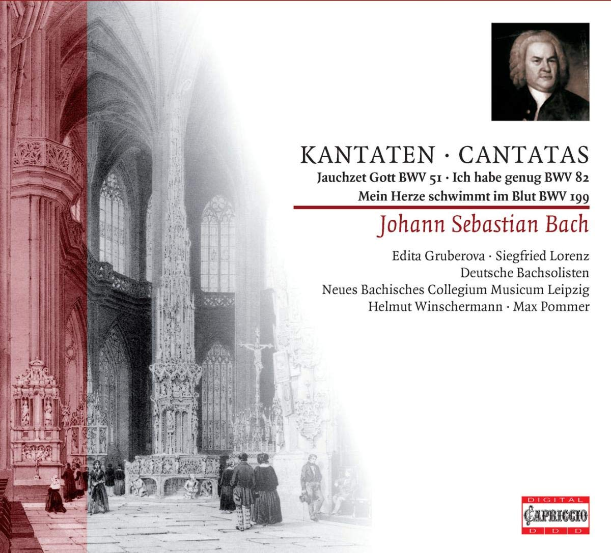 Credence Cantatas Safety and trust BWV 51 82 199