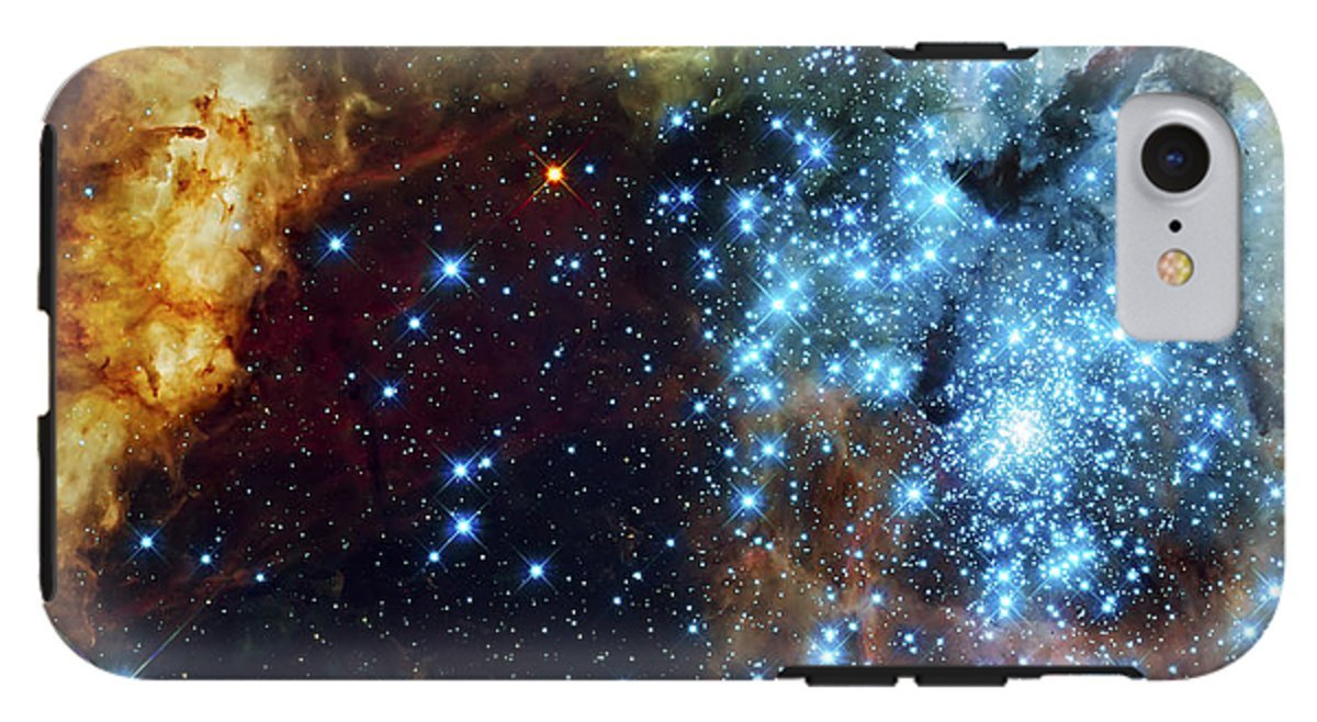 iPhone 8 Case ''Deep Space Fire And Ice 2'' by Pixels by Pixels