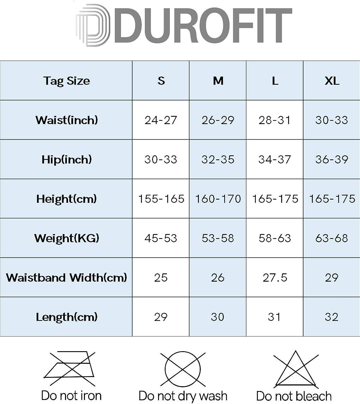 DUROFIT Short de Compression Sport Femme Collant Court Course /à Pied pour Yoga Fitness et Exercice /à la Maison /Élastique et Confortable