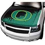 NCAA Oregon Auto Hood Cover, One Size, One Color