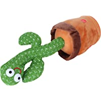 Plush Toys, Early Educational Toys Cactus Toy Support Glowing Recording Dancing Cactus for Children for Adults