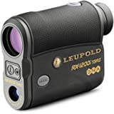 LEUPOLD RX-1200i TBR/W with DNA Laser Rangefinder Black/Gray OLED Selectable (17