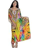 Kivaana Women's Kaftan, Kaftan Maxi Dress, Caftan Dress, Plus Size, Morocco Dress, Silk Kaftan, Boho Beach Dress