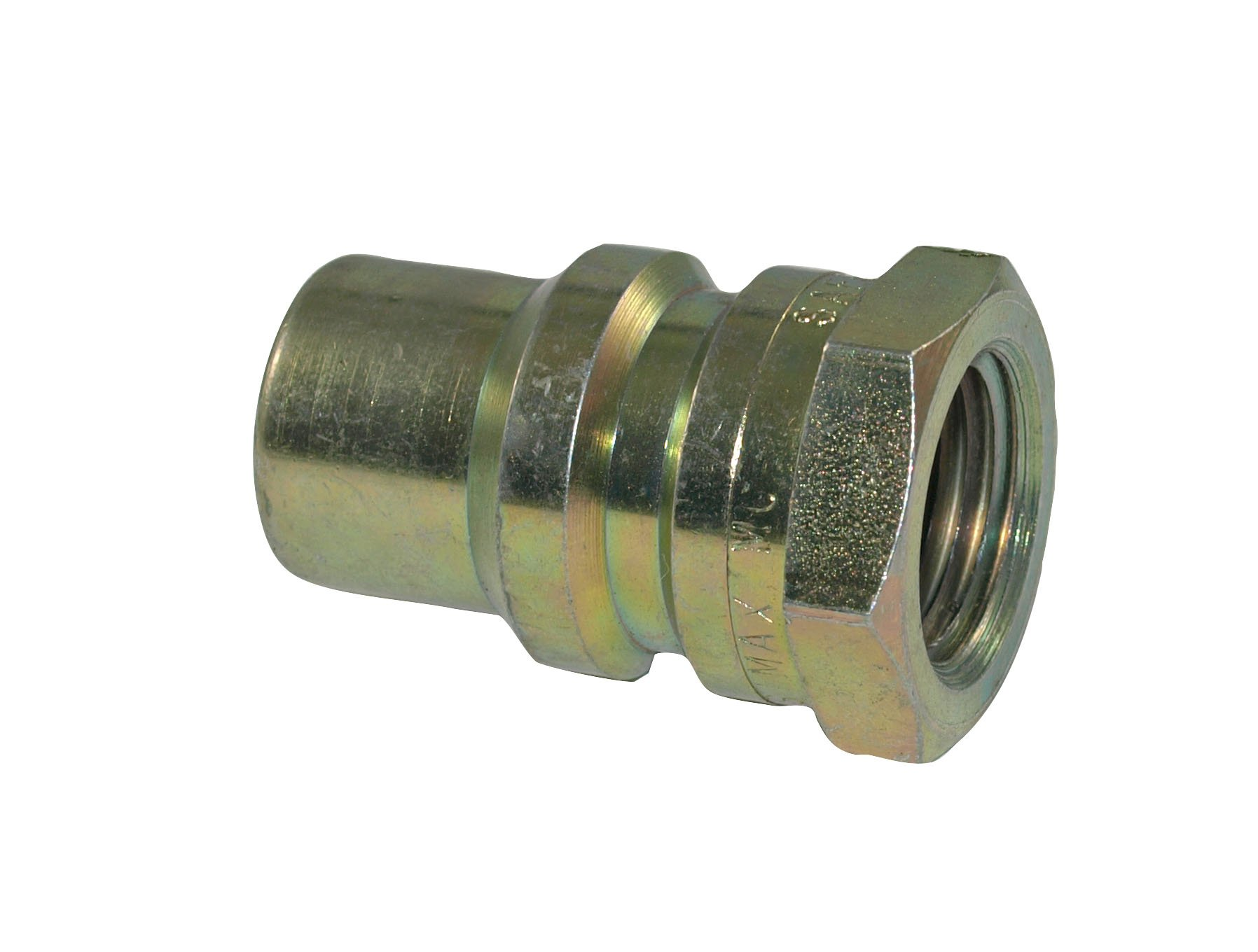 Apache 39041540 1/2'' J.I. Case Old Style Male Tip x 1/2'' Female Pipe Thread Hydraulic Quick Disconnect Adapter (S13-4)