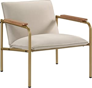 Sauder Coral Cape Lounge Chair, L: 26.77