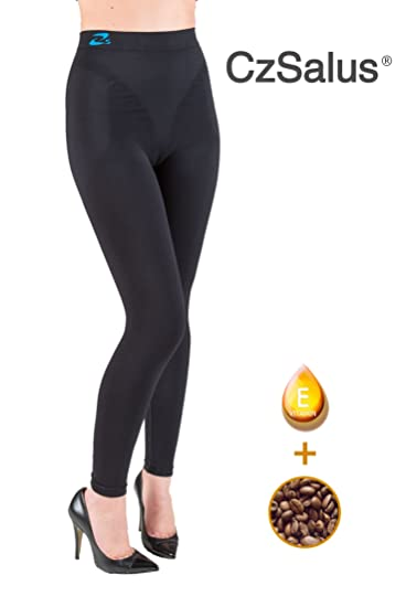 f493cf61a6 Image Unavailable. Image not available for. Color  Anti cellulite slimming  leggings ...