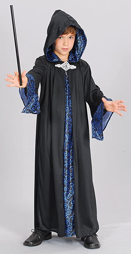 Amazon.com: Boys Asistente Robe Costume para mago Merlin ...