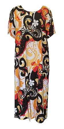 0e555d250b5 RJC Stunning Hawaiian Plus Size Womens Evening Dress at Amazon Women s  Clothing store