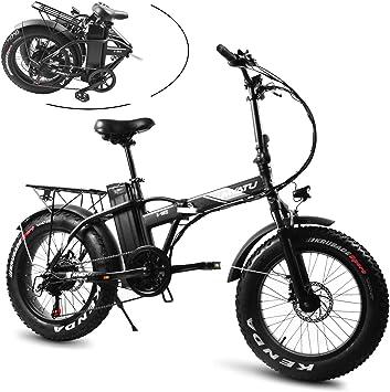 SXZZ Bicicleta Eléctrica De 20 Pulgadas, Bici De Montaña Eléctrica ...