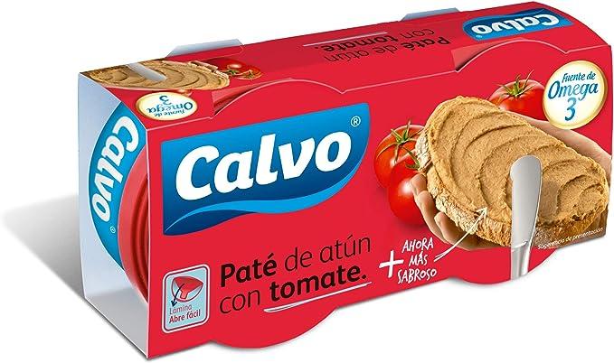 Calvo Atún Claro en Salsa de Tomate - 2 Latas: Amazon.es ...