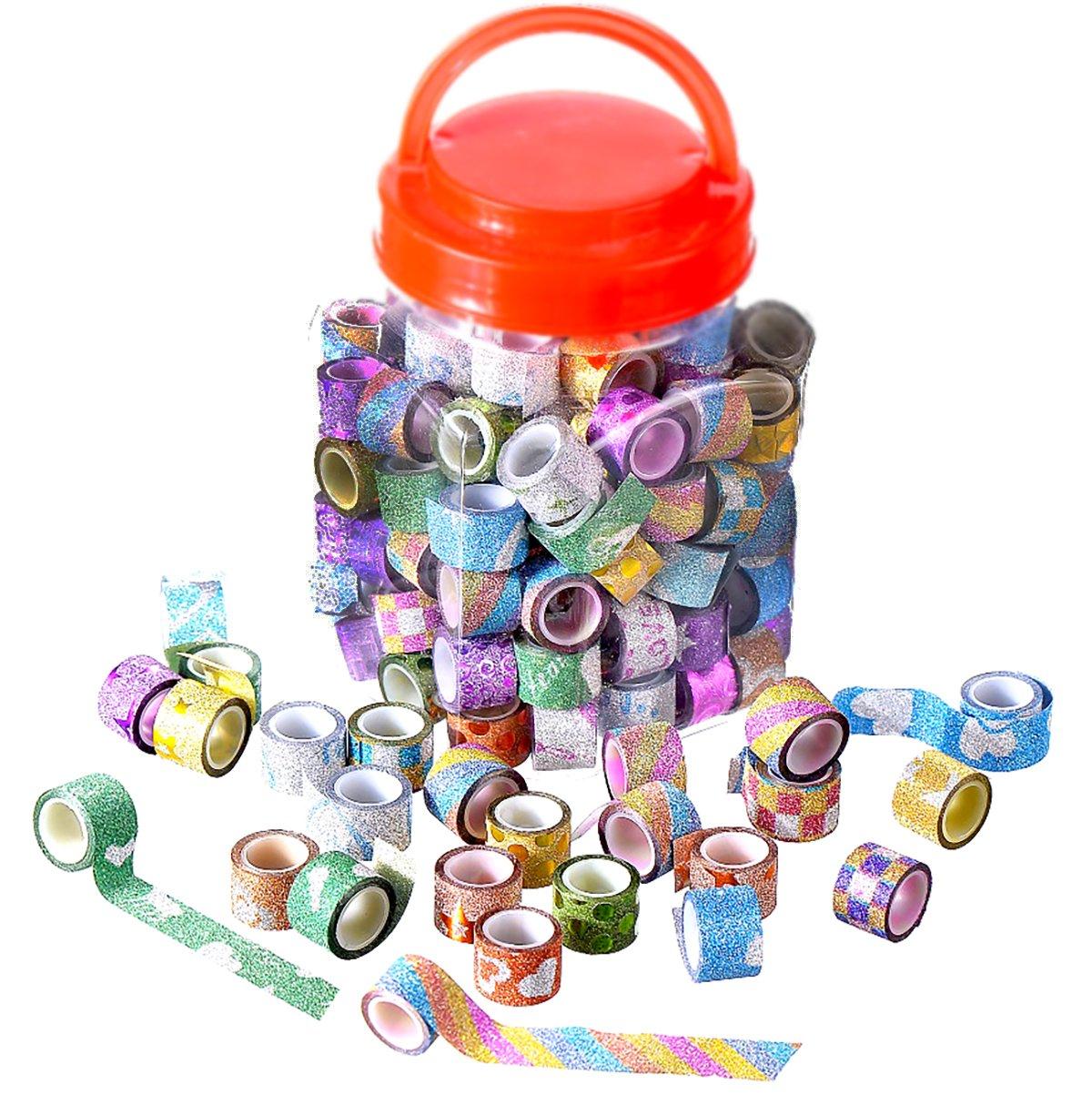 85/rotoli Washi tapes mini decorativo Washi per scrapbooking ufficio per feste e confezione regalo
