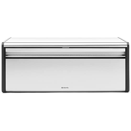 Brabantia Fall Front Matt Steel Bread Bin