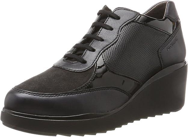Stonefly Eclipse 3 Pearl/Vel, Zapatos con Plataforma para Mujer