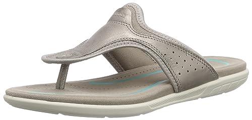 34058430d43b24 ECCO Footwear Womens Bluma Thong Flip Flop