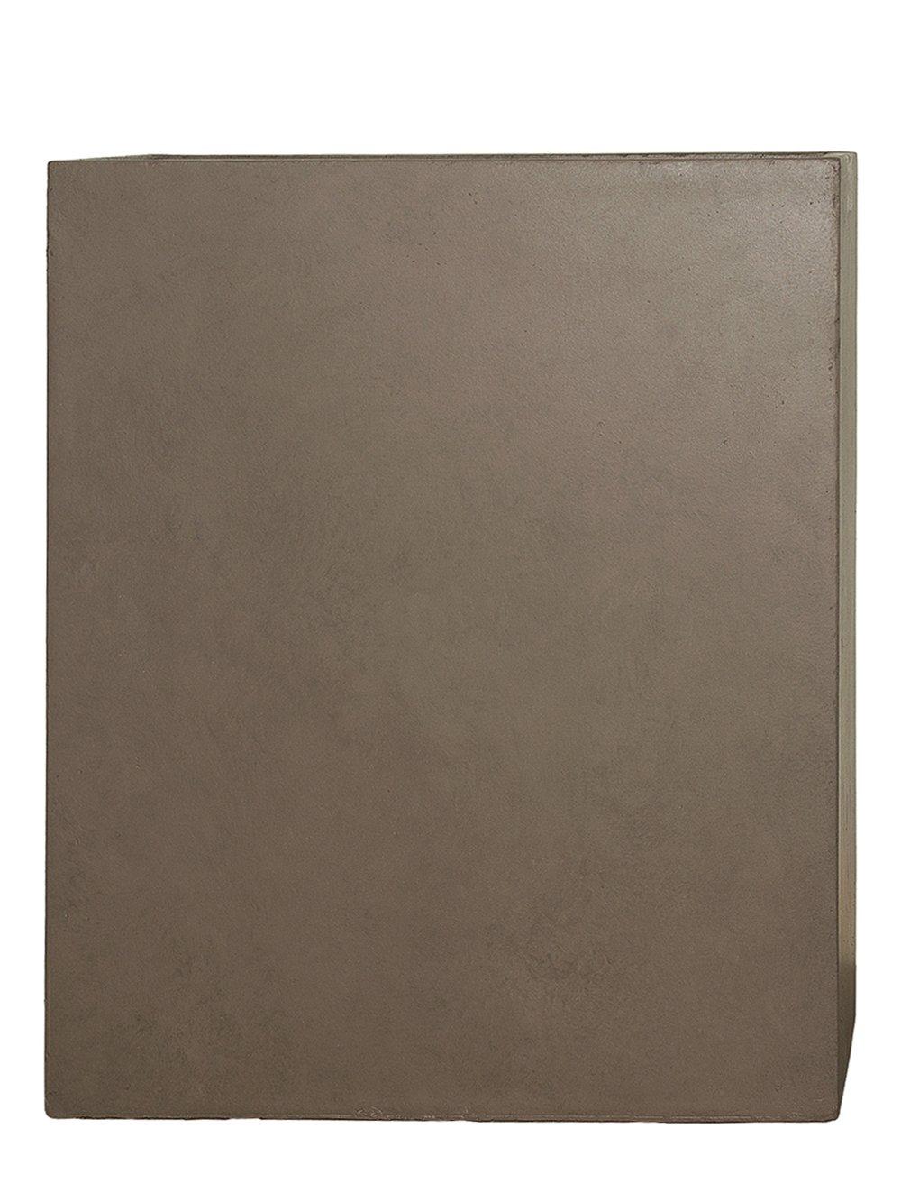 PFLANZWERK® Pflanzkübel DIVIDER Braun 92x80x30cm *Frostbeständig* *UV-Schutz* *Qualitätsware*