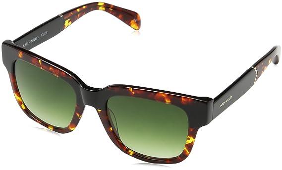 Womens Km500518051 Sunglasses, Tortoise, 51 Karen Millen