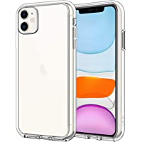 JETech Case for iPhone 11 (2019) 6.1-Inch, Shock-Absorption Bumper Cover, Anti-Scratch Clear Back, HD Clear