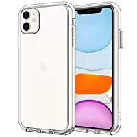 JETech Case for iPhone 11 (2019), 6.1-Inch, Shockproof Bumper Cover, Anti-Scratch Clear Back (HD Clear)