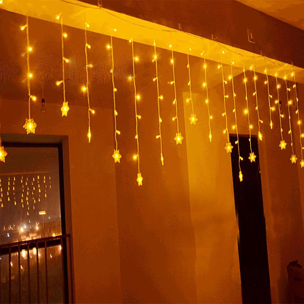 BUOCEANS 3.5 x 0.8 m LED Catena Luminosa Luci Di Natale Image 4
