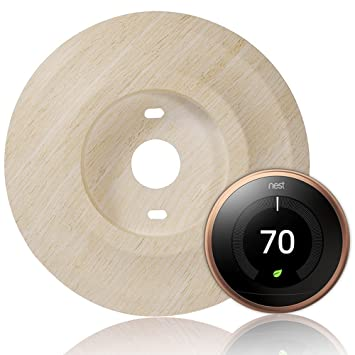 Cubretermostato Holaca de 18,5 cm para termostato Nest de 1.ª,