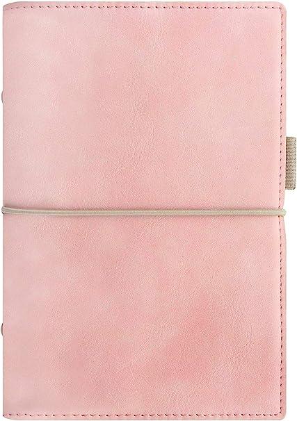 /rosa pallido Filofax domino morbido personal organiser/