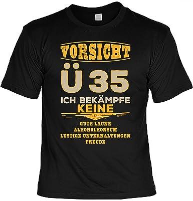 T Shirt 35 Geburtstag   Geburtstagsshirt Sprüche 35 Jahre