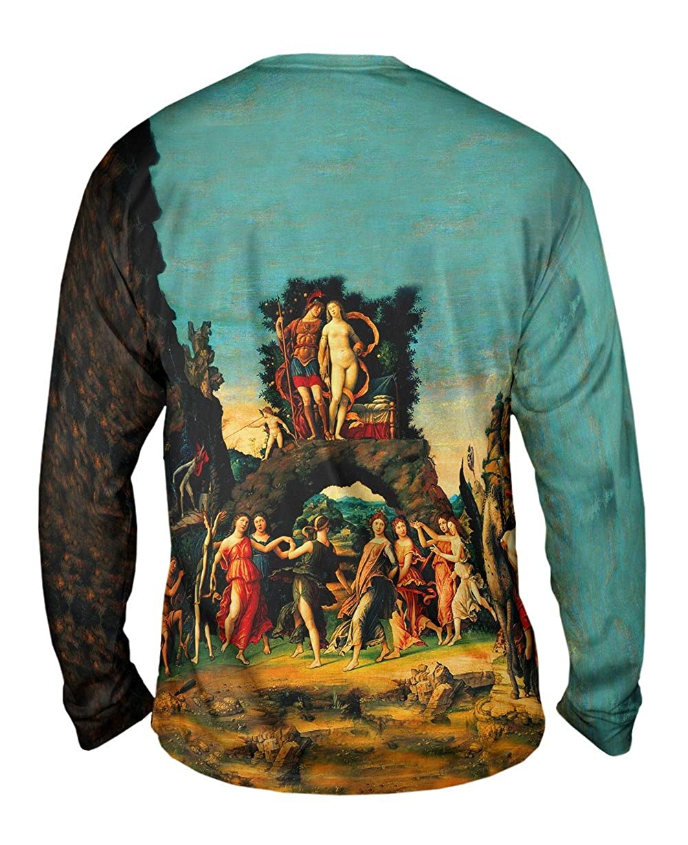 Yizzam- Andrea Mantegna 1497 -TShirt- Mens Long Sleeve Paranssus