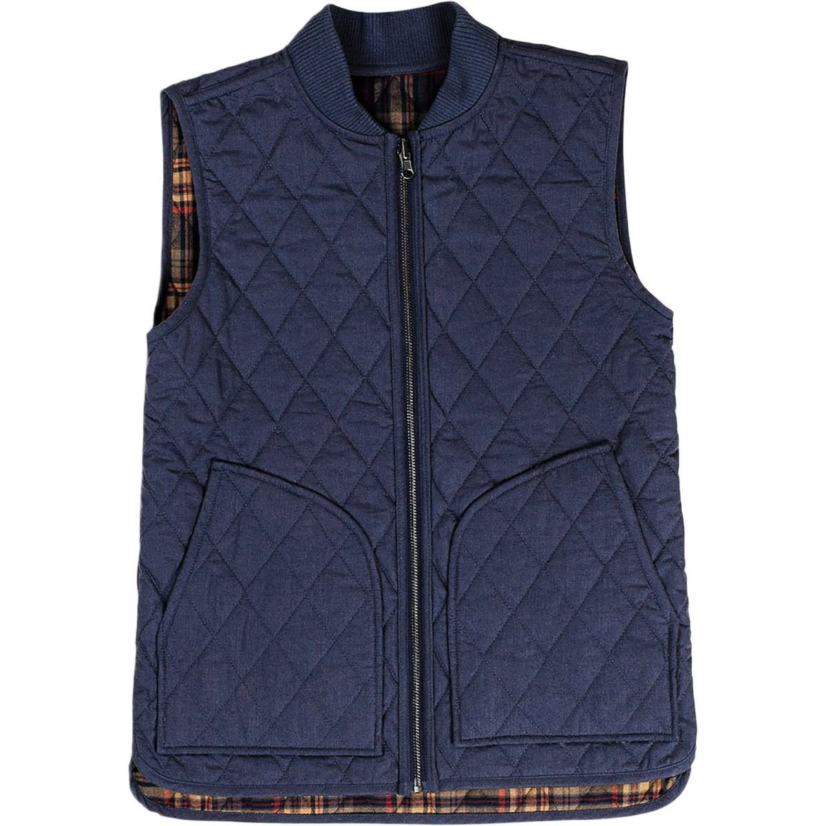 United by Blue Meadowcroft Reversible Vest - Women's Green Plaid/Black, M