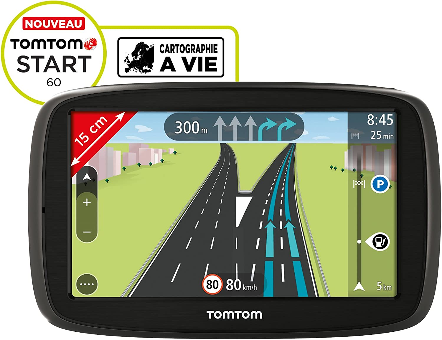 Tomtom Start 60 6 Inch Sat Nav With Western Europe Maps And