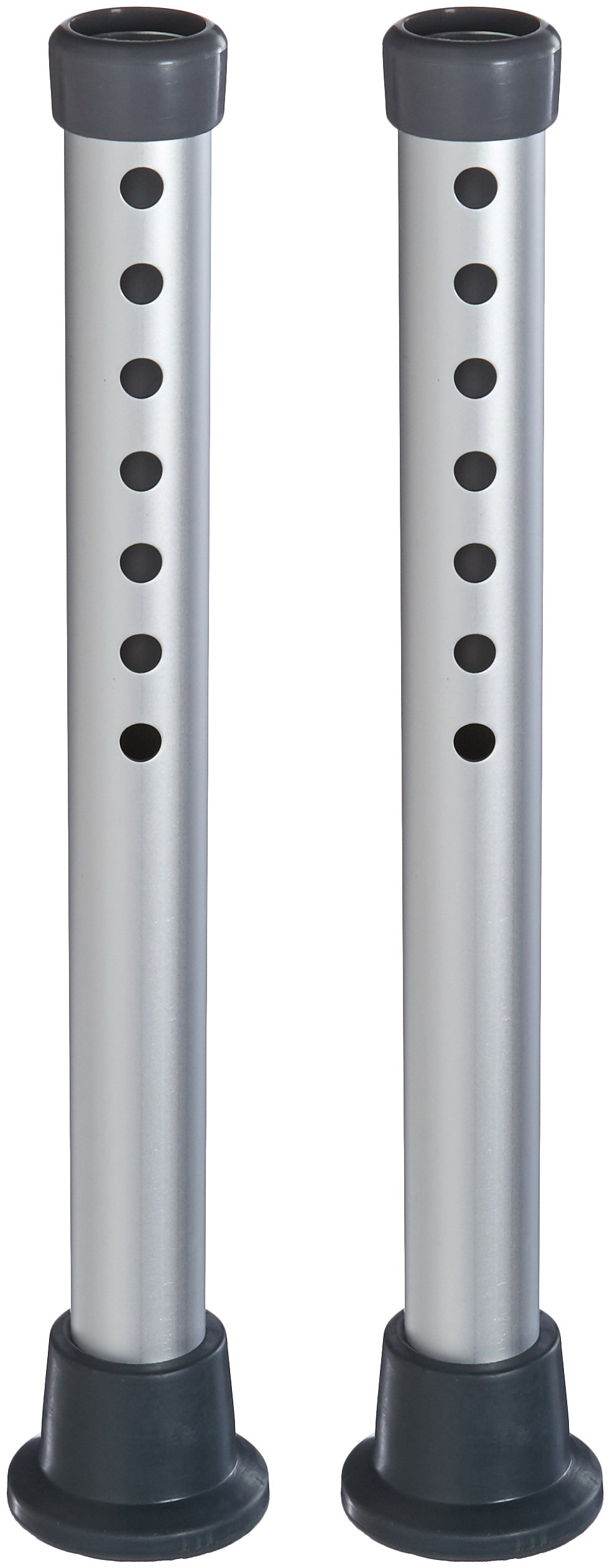 Lumex 7954A Extension 4-Inch Legs Pair with Flange Tips Only