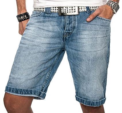 Schöne Herren Sommer Jeans Shorts kurze Hose hellblaue denim Short blau NEU  B138  B138 - 163b0daf8b
