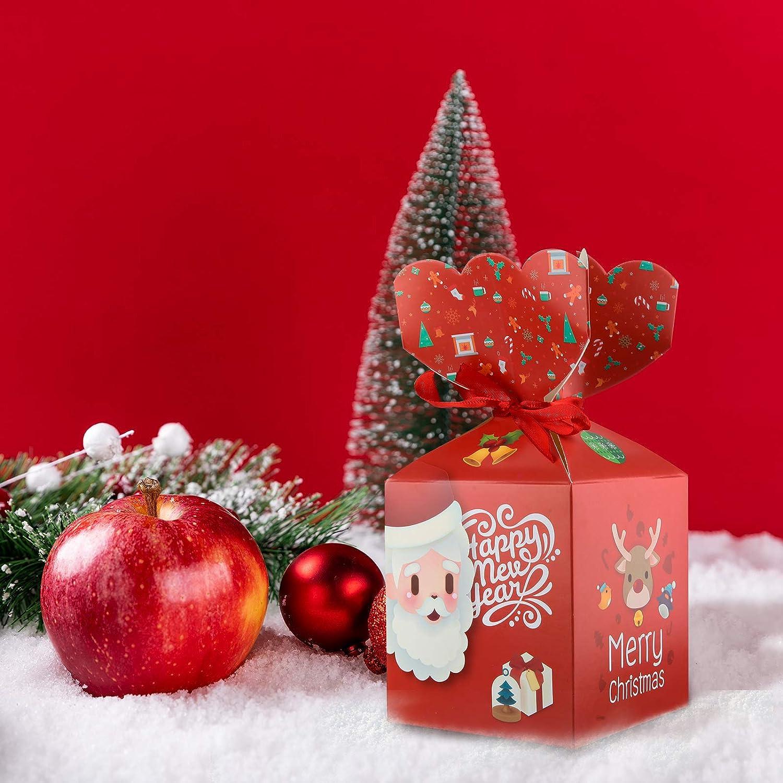 Pack de 2 Cadeau De Noël Boîtes x 2 assortis Total 4 boîtes