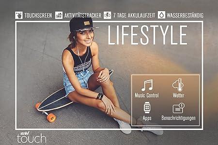 Striiv Touch Aktivity Tracker & Smartwatch, Touchscreen ...