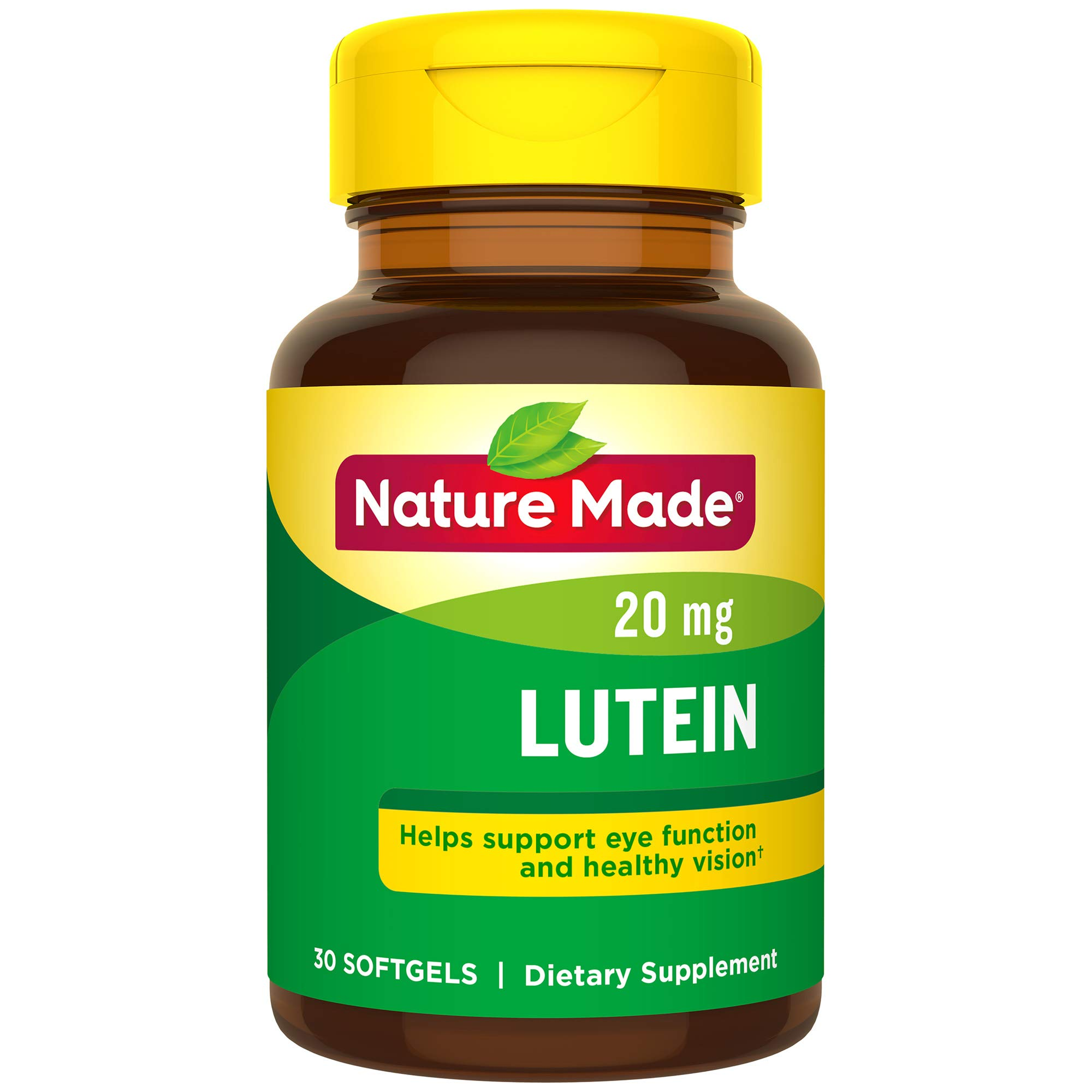 Nature Made Extra Strength Lutein 20 mg Softgels ( Pack Of 3 ) by Nature Made
