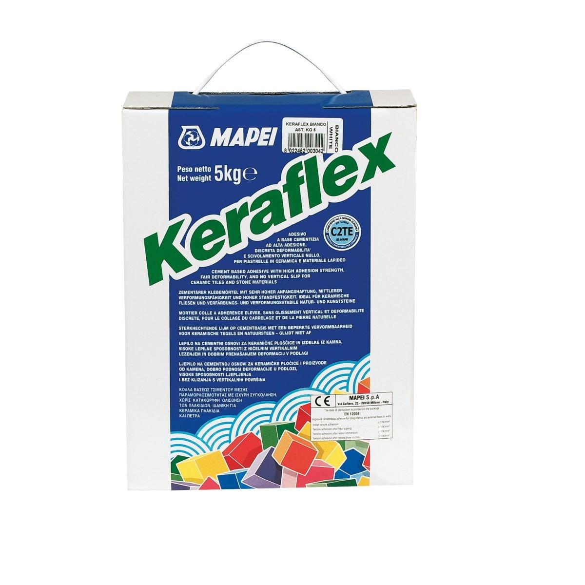 Mapei Keraflex Tile Adhesive White 5kg [Energy Class A]