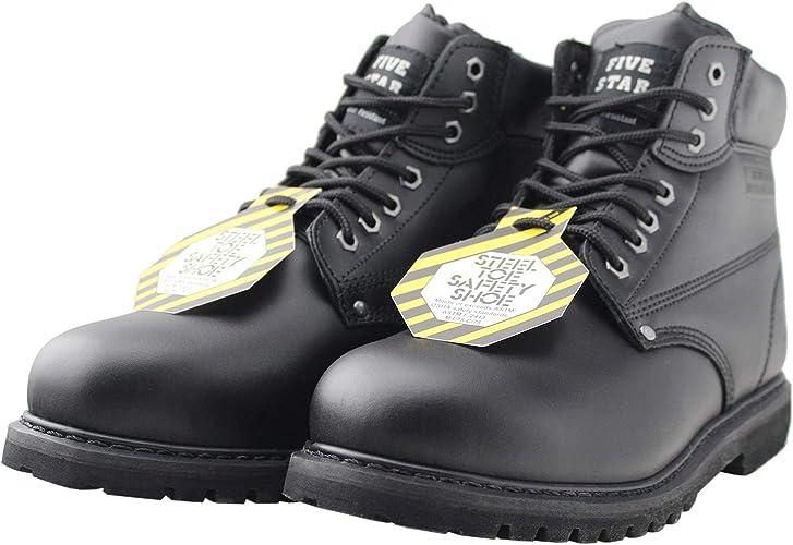 Tanleewa Steel Toe Men Work Shoes