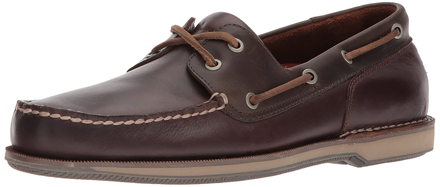 Rockport Ports of Call Perth K54692  Herren Bootsschuhe  Braun (DK BROWN PULL UP)  EU 44 (UK 9.5) Beeswax/Dk B